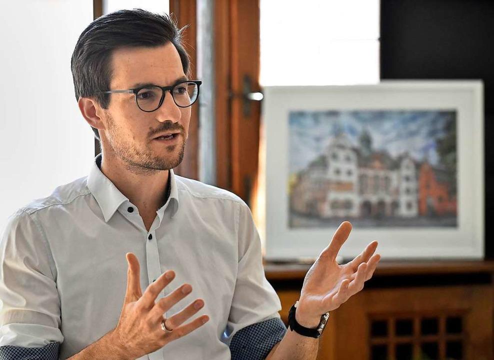 Freiburgs OB Martin Horn    Foto: Michael Bamberger