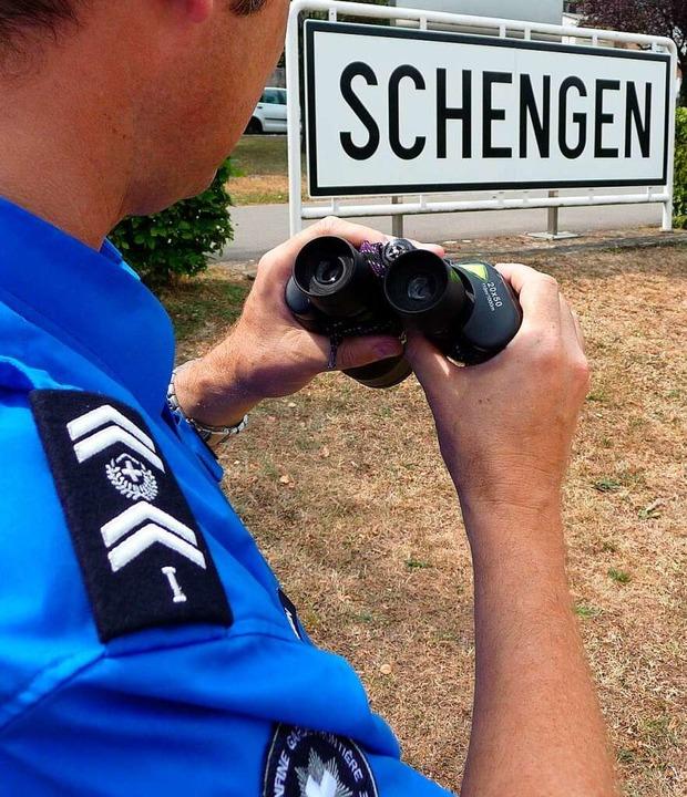 Offene Grenzen nach dem Schengener Abk...dbaden besonders wichtig. (Symbolbild)  | Foto: bz