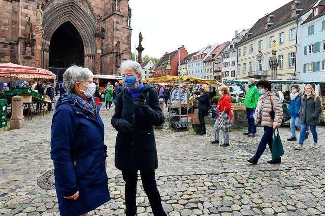Freiburg liegt mit einem Inzidenzwert von 37,2 über der Warnschwelle