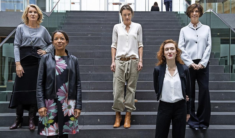 Starke Frauen (von links) : Maria Furt...ssong und Jutta Allmendinger in Berlin  | Foto: Bernd von Jutrczenka (dpa)