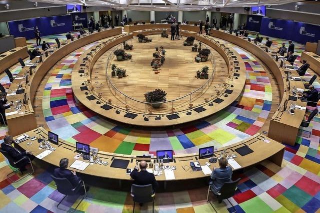 EU-Gipfel mit Hindernissen