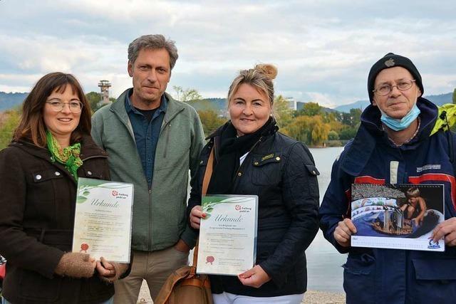 Für ökologisch aktive Freiburger gab's Auszeichnungen von Stadt und UN