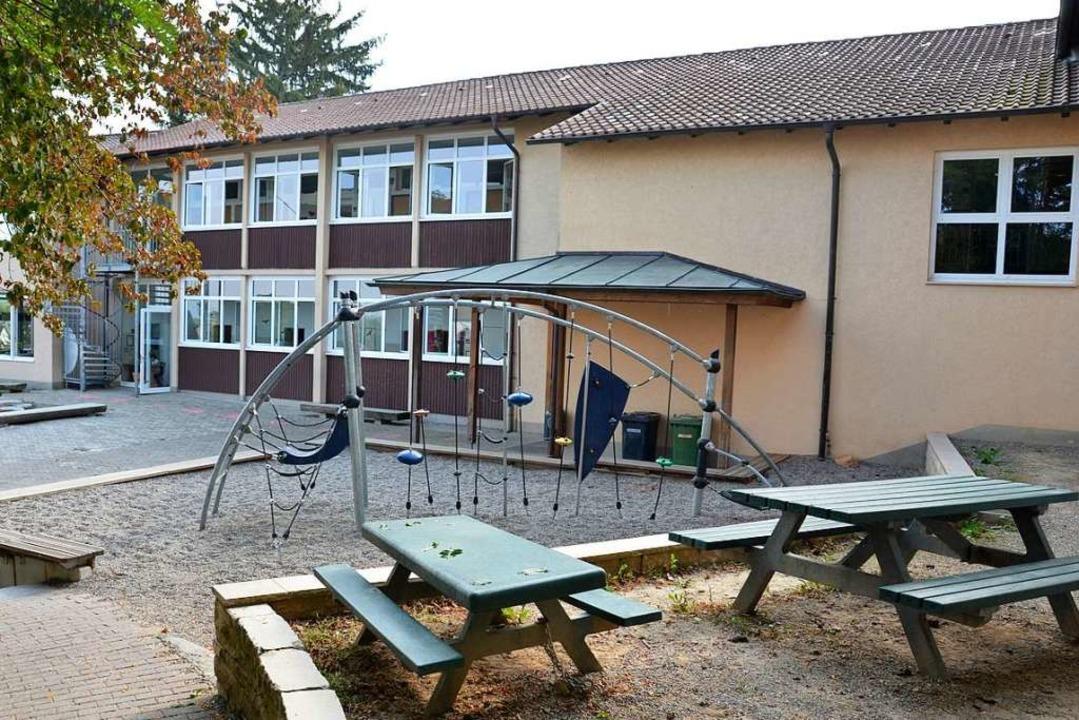 Für vier Millionen Euro wird die Grundschule bald saniert und erweitert.  | Foto: Sophia Hesser