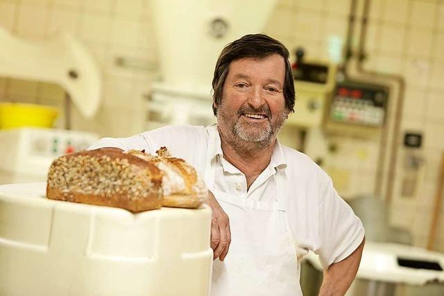 Klaus Baumert ist der letzte Bäckermeister in Friesenheim mit eigener Backstube