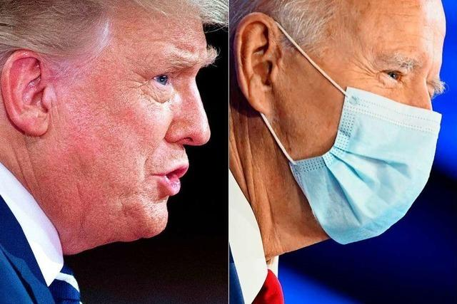 Der Präsident unter Druck, der Herausforderer selbstbewusst
