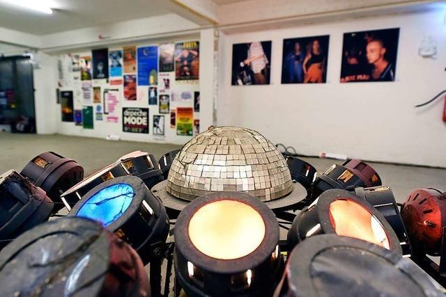 Eine Ausstellung liefert eine Chronik der Clubnächte in Freiburg