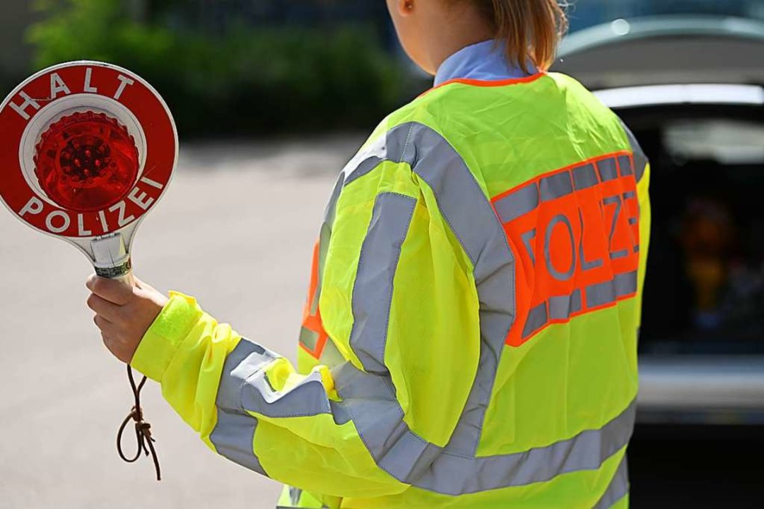 Der Fahrer fiel bei eier Verkehrskontrolle auf (Symbolbild).  | Foto: Jonas Hirt