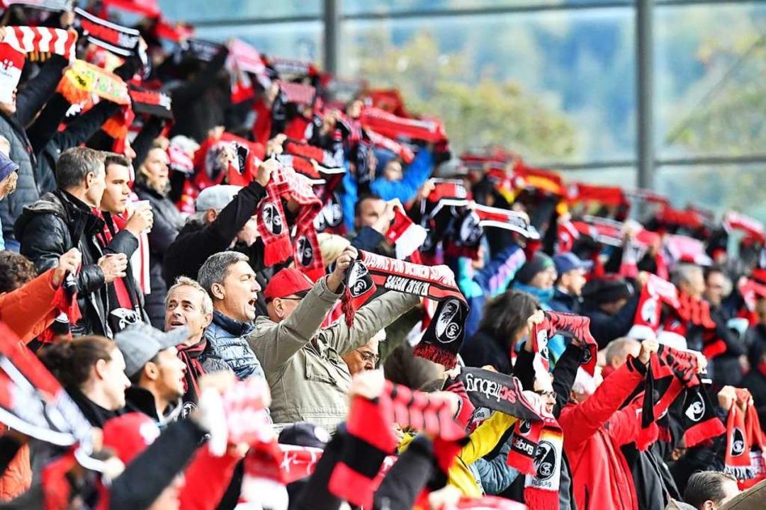 So hätte es wieder aussehen sollen: SC-Spiel im Dreisamstadion am 27. September.  | Foto: Achim Keller/SC Freiburg
