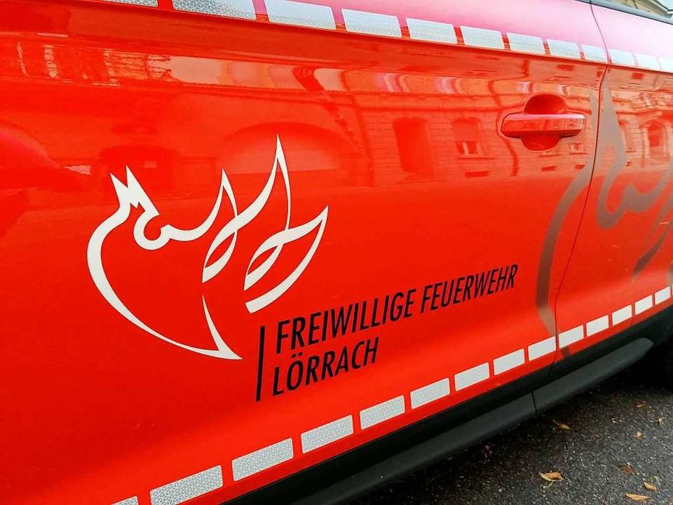 Einsatz für die Feuerwehr am Freitagmittag  | Foto: Kathrin Ganter