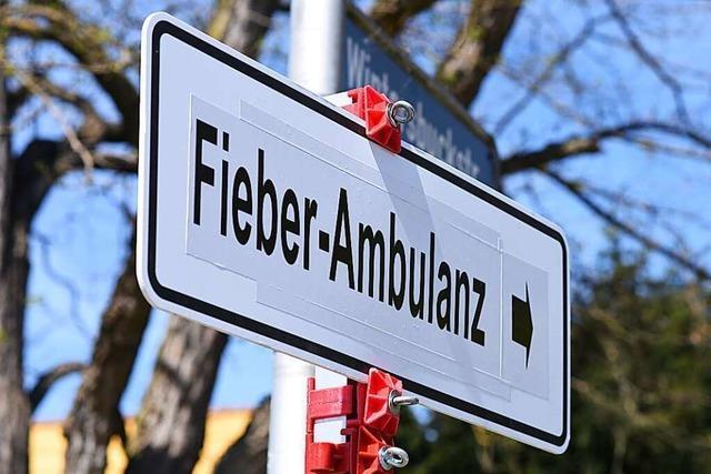 Fieberambulanz öffnet in Lörrach parallel zur Abstrichstelle