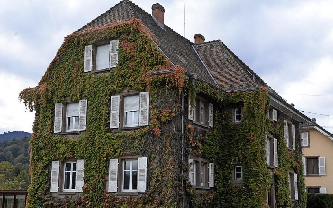 Das Maison Albert Schweitzer in Gunsbach.  | Foto: Annette Mahro