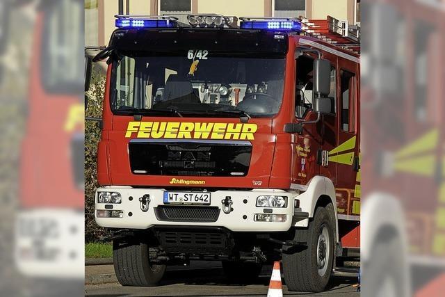 Rat gibt grünes Licht für neues Feuerwehrfahrzeug