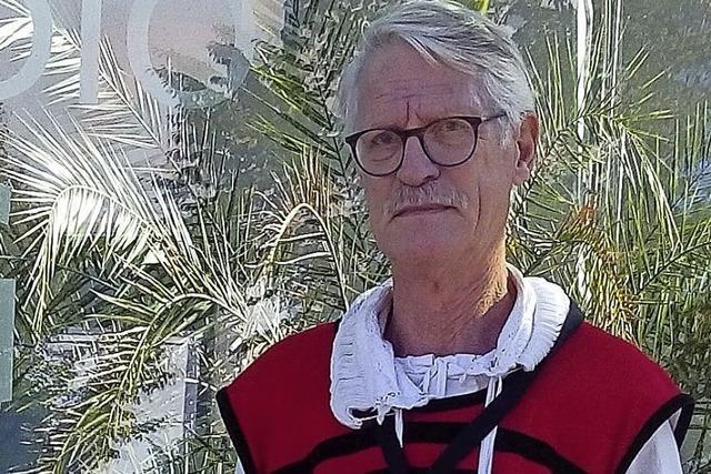 Stadtführer Willy Riegger im Fernsehen