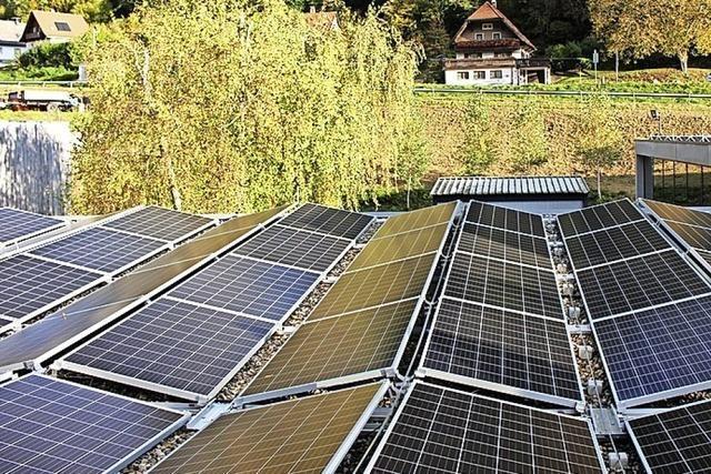 Solarstrom für die Bürstenfabrik