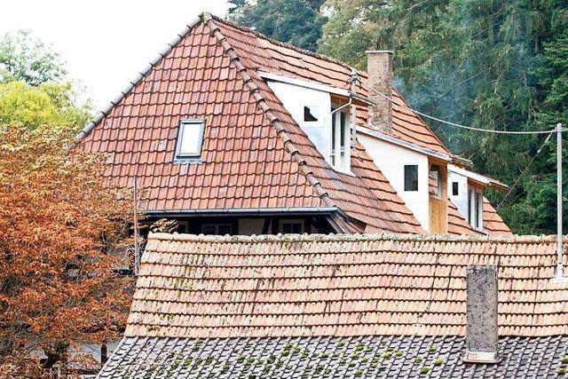 Gauben sollen eines der ältesten Gasthäuser in Deutschland auf dem Schönberg verunstalten