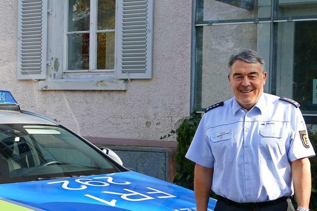 Bernhard Weis ist neuer Revierleiter d...n und freut sich auf die neue Aufgabe.  | Foto: Dora Schöls