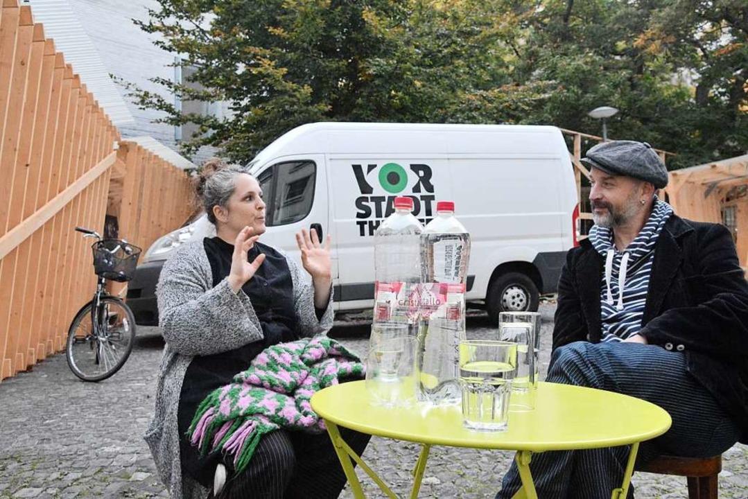 Gina Durler und Matthias Grupp leiten ...dort derzeit manches anders als sonst.  | Foto: Annette Mahro