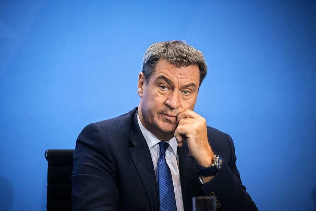 CSU-Chef Markus Söder  | Foto: Stefanie Loos (dpa)
