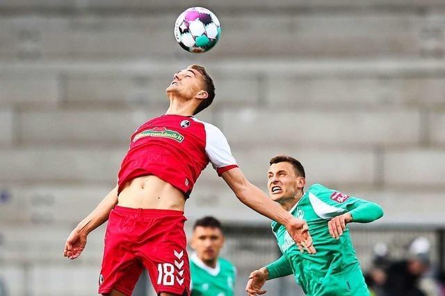SC Freiburg lässt gegen Werder Bremen zwei Punkte liegen
