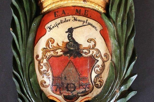 Ein altes Wappen aus Grenzach-Wyhlen erhält eine Frischzellenkur