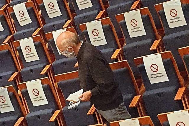 Im Schatten der verschärften Pandemie-Verordnungen: Zwei Freiburger Albert-Konzerte