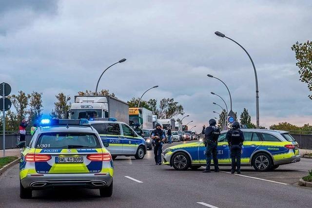 Nach Schießerei in Straßburg war die Grenze in Kehl vorsorglich für zwei Stunden dicht