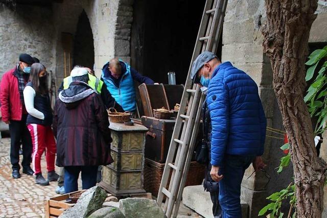Eintauchen in die Dorfgeschichte beim Trödelmarkt in Blansingen