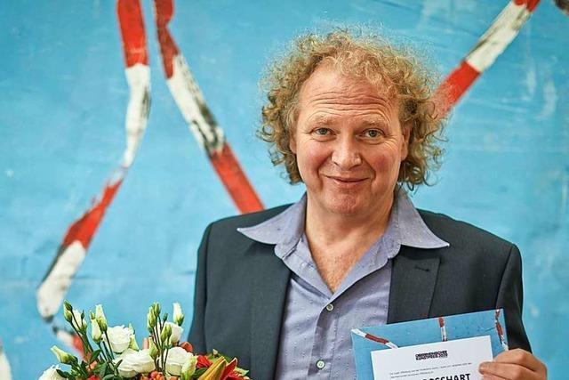 Maler Peter Bosshart wird mit Kunstpreis der Stadt Offenburg geehrt