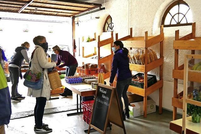 In Saig und Kappel vor der Haustür einkaufen