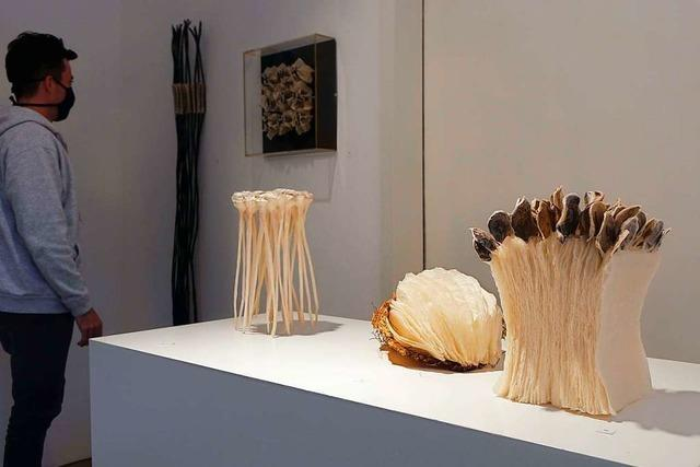Hannelore Weitbrecht stellt in der Galerie Underground Haltingen aus