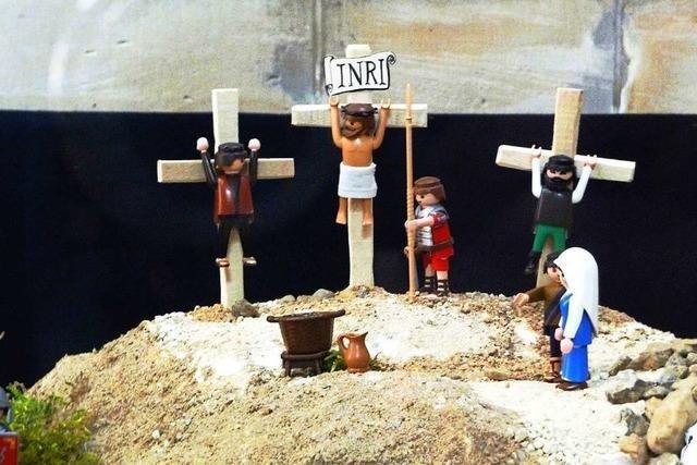 Die Bibel wird jetzt mit Playmobil-Figuren in Szene gesetzt