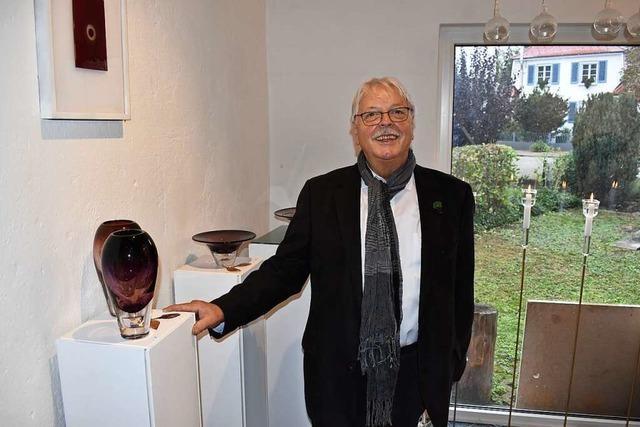 Wilfried Markus eröffnet Ausstellung