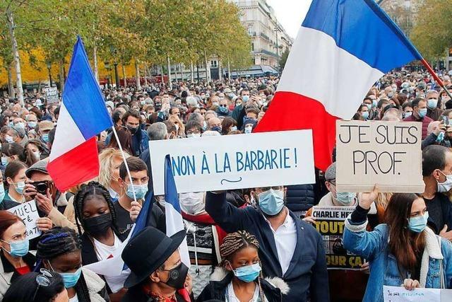 Frankreich sagt Islamisten nach Tötung eines Lehrers den Kampf an