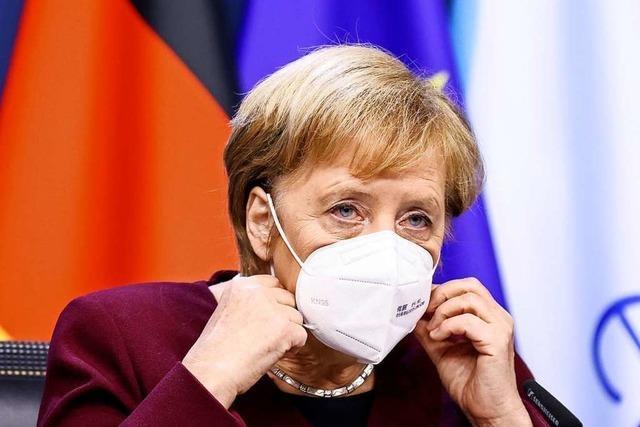 Merkels Aufruf an die Bürger ist allein nicht genug