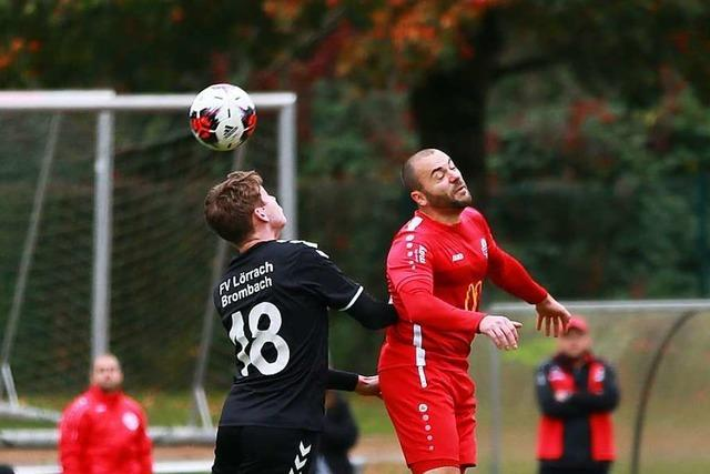 Wallbacher Tristesse: Vierte Niederlage in Folge – 1:3 gegen U 23 des FV Lörrach-Brombach