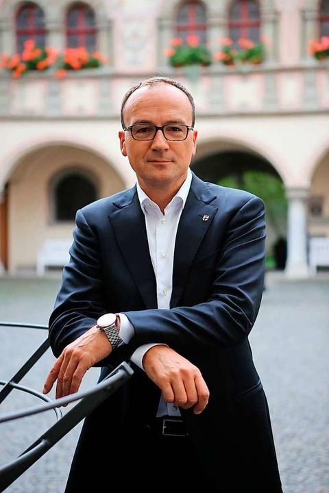 Bleibt Oberbürgermeister von Konstanz: Uli Burchardt (CDU)  | Foto: Oliver Hanser