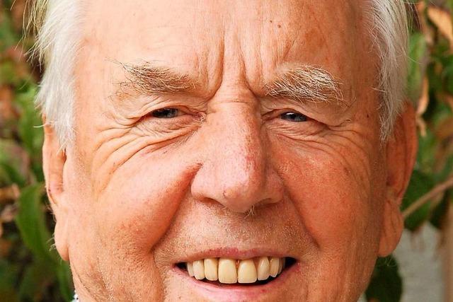 Der Macher der Reichenbacher Hammerschmiede ist 90 Jahre alt