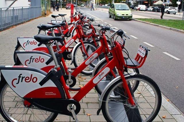 An diesen 17 neuen Stationen kann man jetzt in Freiburg Räder leihen