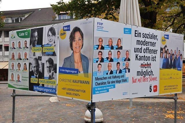 Wahlen in Basel: Bürgerliche wollen grün-rote Regierung kippen