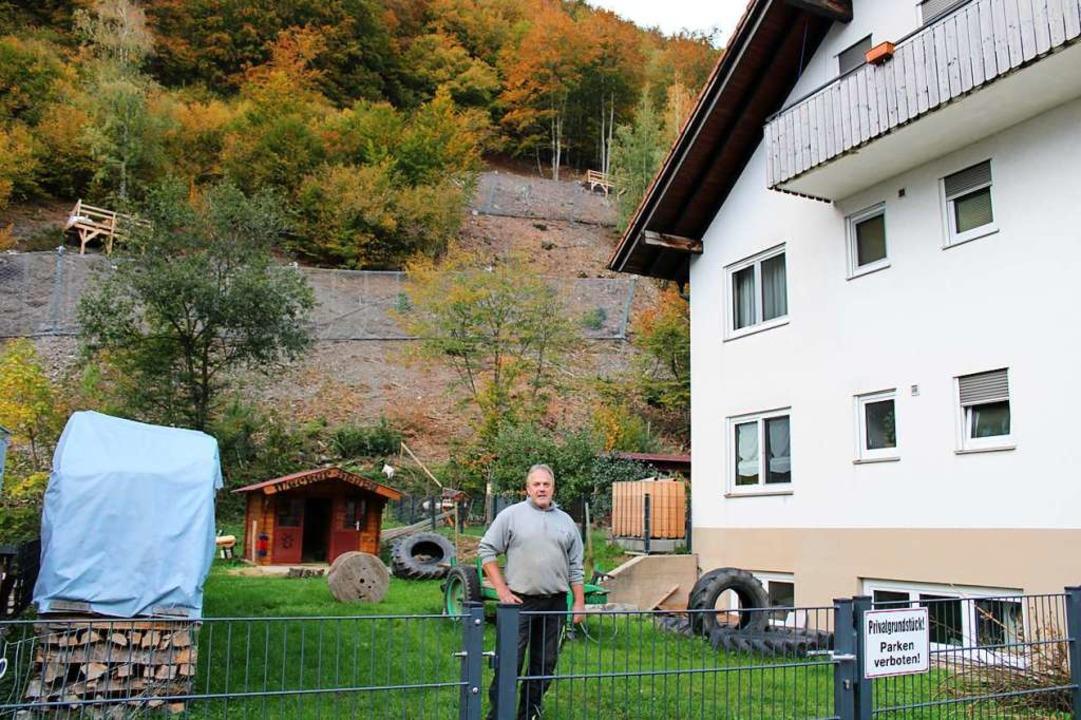 Von der Evakuierung betroffen: Klaus Büchele    Foto: Manuel Hunn