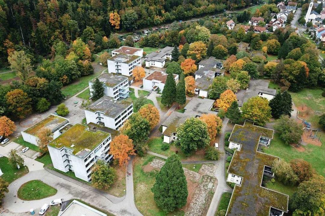 Der Campus des Bildungs- und Beratungs... von Stegen umfasst eine große Fläche.    Foto: Michael Saurer