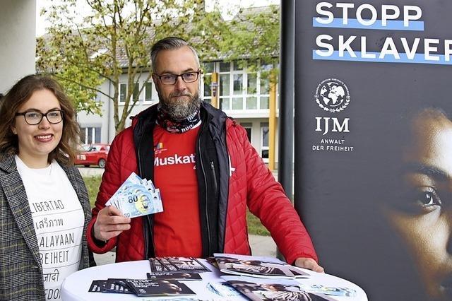 Engagement gegen Menschenhandel