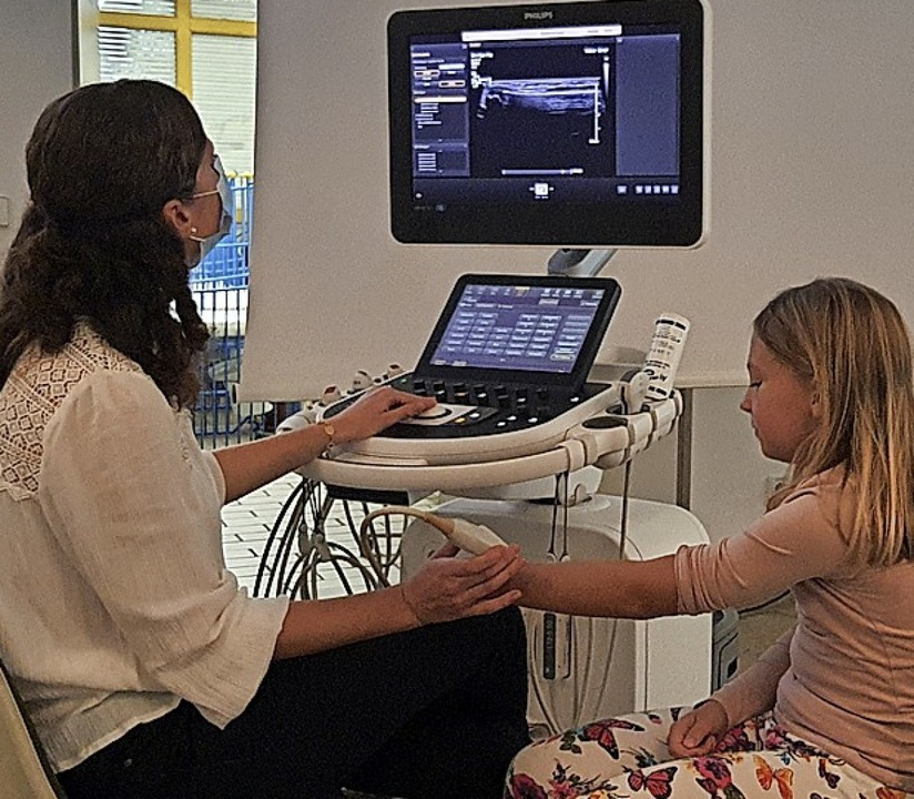 <BZ-FotoAnlauf>Kinderchirurgie:</BZ-Fo...aschall schmerzfrei untersucht werden.  | Foto: Kreiskliniken