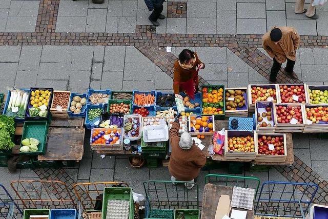 Ab sofort Maskenpflicht auf dem Offenburger Wochenmarkt