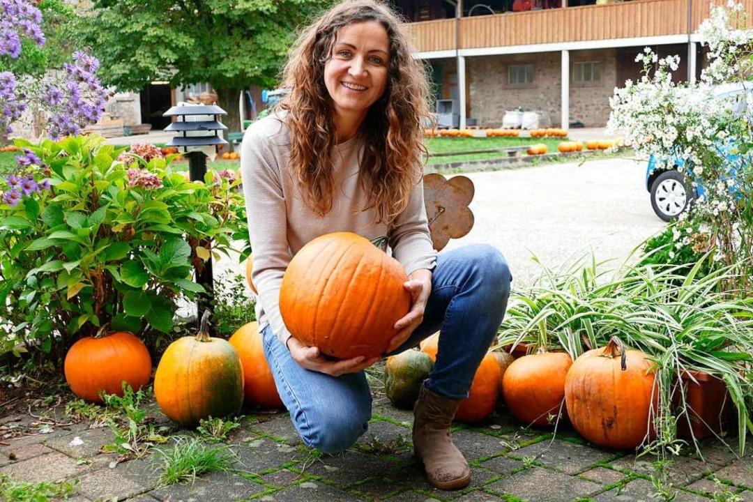 Johanna Schlick  vom Baldenwegerhof in Stegen  | Foto: Markus Donner