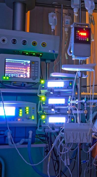 Derzeit sind nur relativ wenige Intensivbetten belegt.  | Foto: Kiryl Lis  (stock.adobe.com)