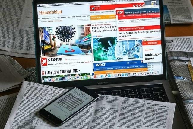 In der Pandemie gehören Ungewissheiten auch für Journalisten dazu