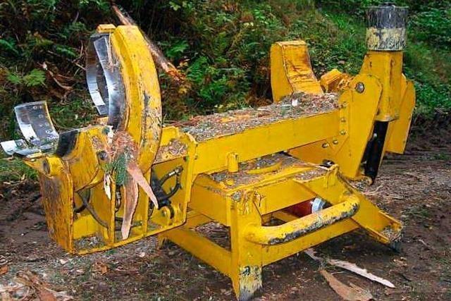 In Badenweiler haben Unbekannte eine tonnenschwere Forstmaschine gestohlen