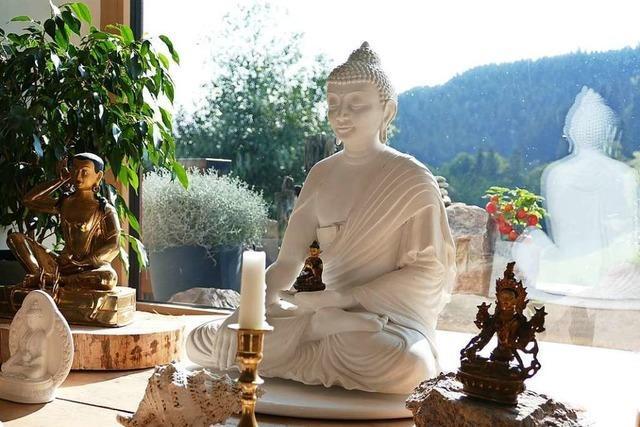 In einem Lenzkircher Ortsteil leben Buddhisten aus der ganzen Welt