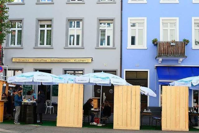 Freiburger Gastronomen sollen draußen ein Jahr länger mehr Sitze aufstellen können